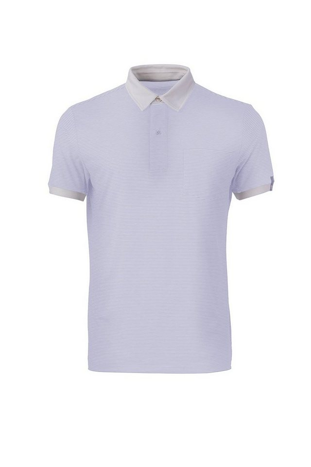 Super.Natural Merino-Polo »M VOYAGE CLASSIC POLO« in FRESH WHITE/ZEPHYR