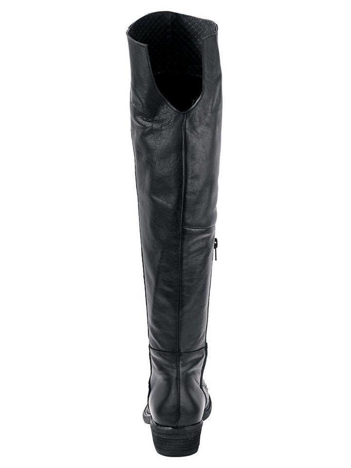 Heine Stiefel in schwarz
