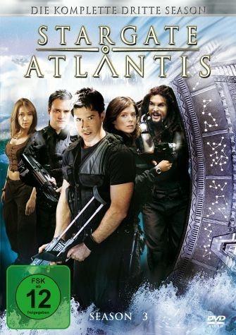DVD »Stargate Atlantis - Season 3 (5 DVDs)«