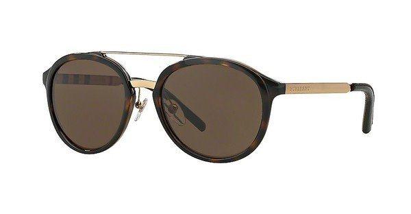 Burberry Herren Sonnenbrille » BE4168Q« in 300273 - braun/braun