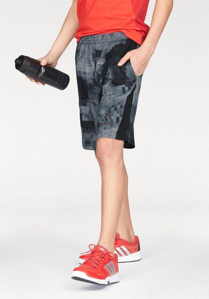 adidas Performance Shorts »SWAT SHORT« in grau-schwarz