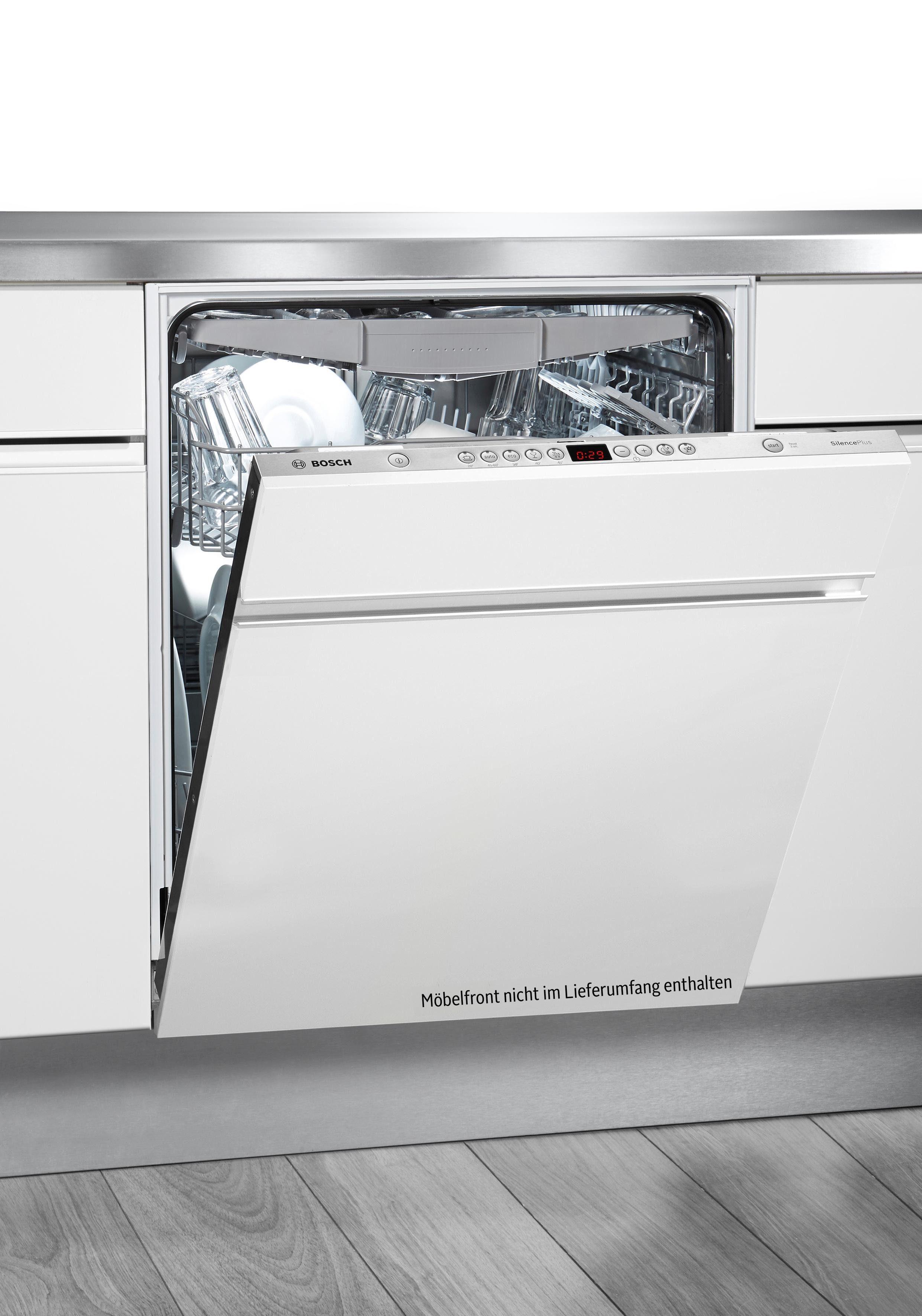 Bosch integrierbarer Einbaugeschirrspüler SMV58P60EU, Energieklasse A+++, 9,5 Liter