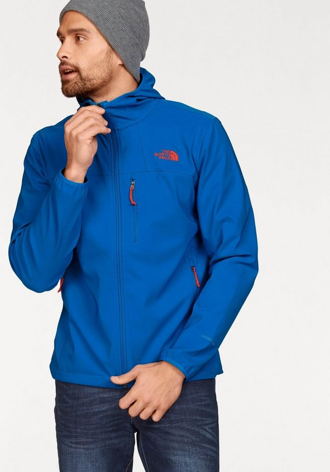 The North Face NIMBLE HOODIE Softshelljacke in Blau