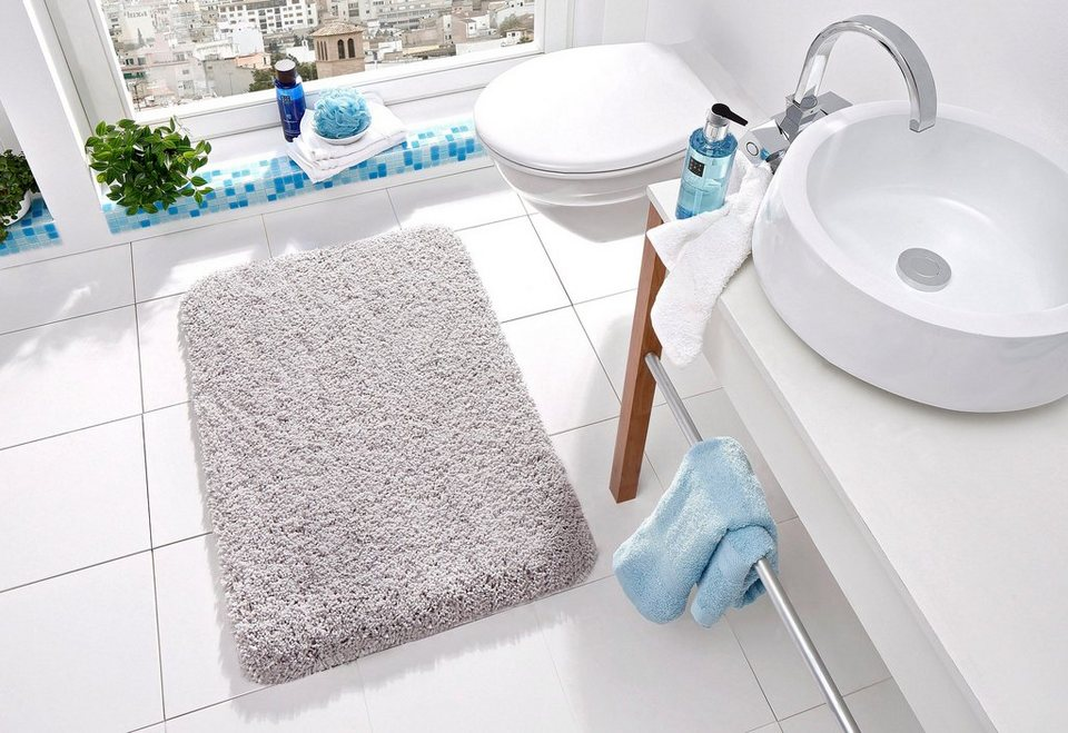 badematte trend kleine wolke h he 35 mm rutschhemmend beschichtet fu bodenheizungsgeeignet. Black Bedroom Furniture Sets. Home Design Ideas