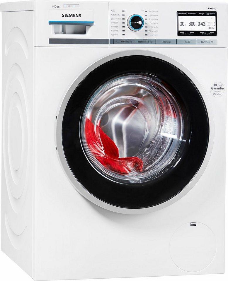 siemens waschmaschine wm16y843 i dos a 8 kg 1600 u min online kaufen otto. Black Bedroom Furniture Sets. Home Design Ideas