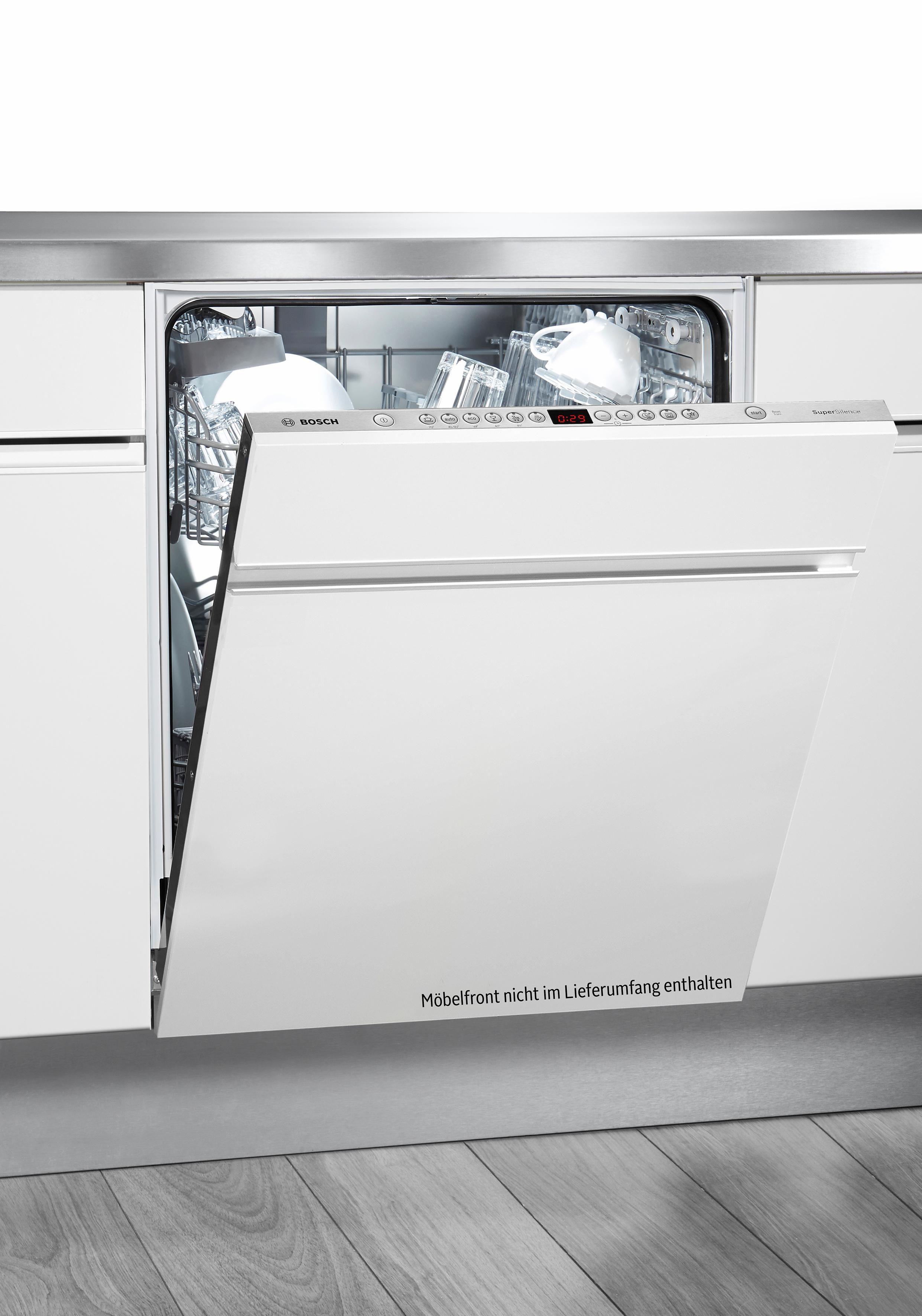 Bosch vollintegrierbarer Einbaugeschirrspüler SMV63N60EU, Energieklasse: A+++, 9,5 l, 13 Maßgedecke