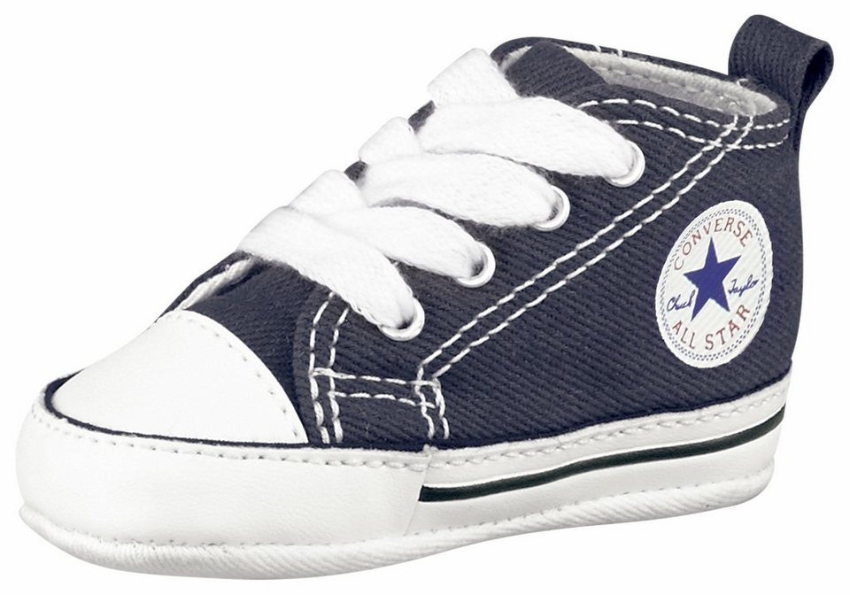 converse chuck taylor all star first star sneaker baby online kaufen otto. Black Bedroom Furniture Sets. Home Design Ideas