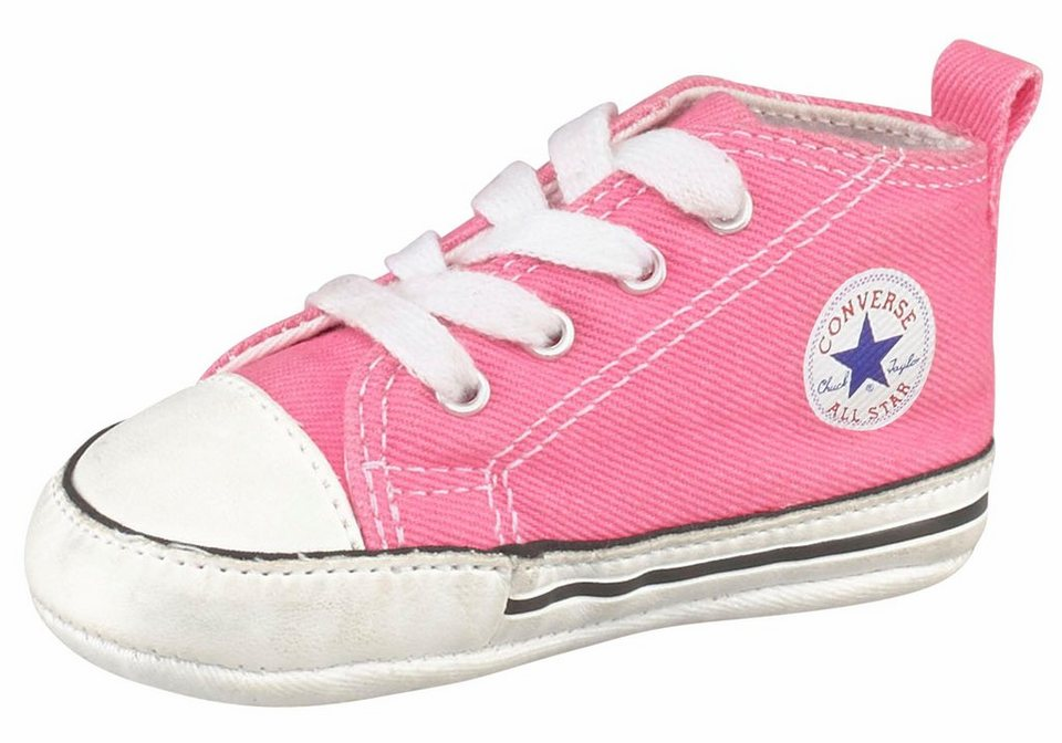 Converse »Chuck Taylor All Star First Star« Lauflernschuh in rosa