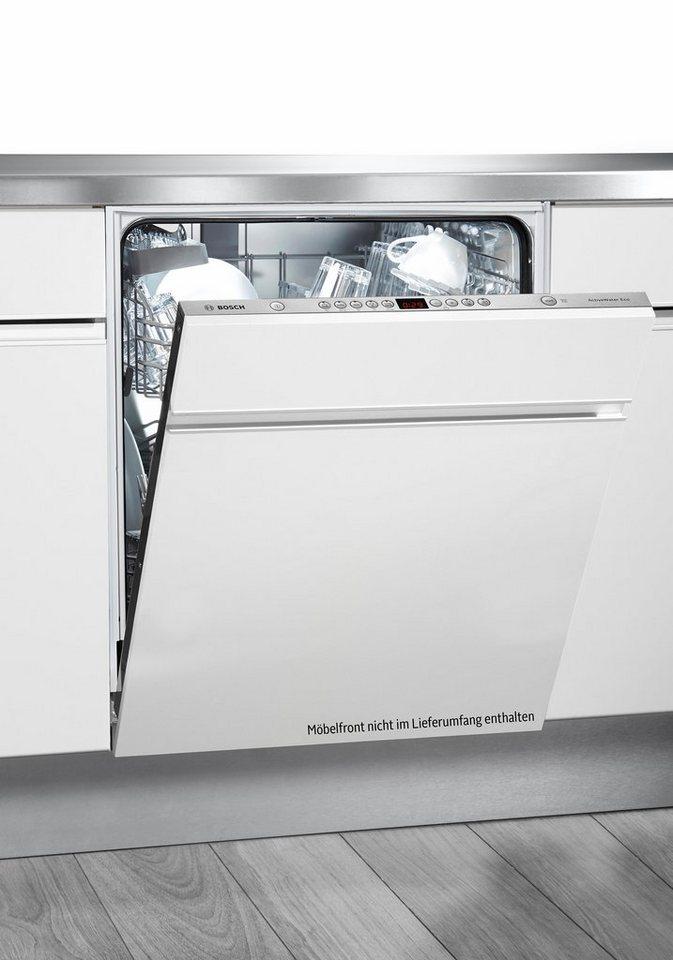 Bosch vollintegrierbarer Einbaugeschirrspüler SMV53P11EU, Energieklasse A++