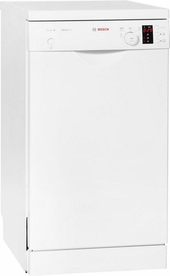 BOSCH Geschirrspüler SPS50E92EU, A+, 9,5 Liter, 9 Maßgedecke in weiß