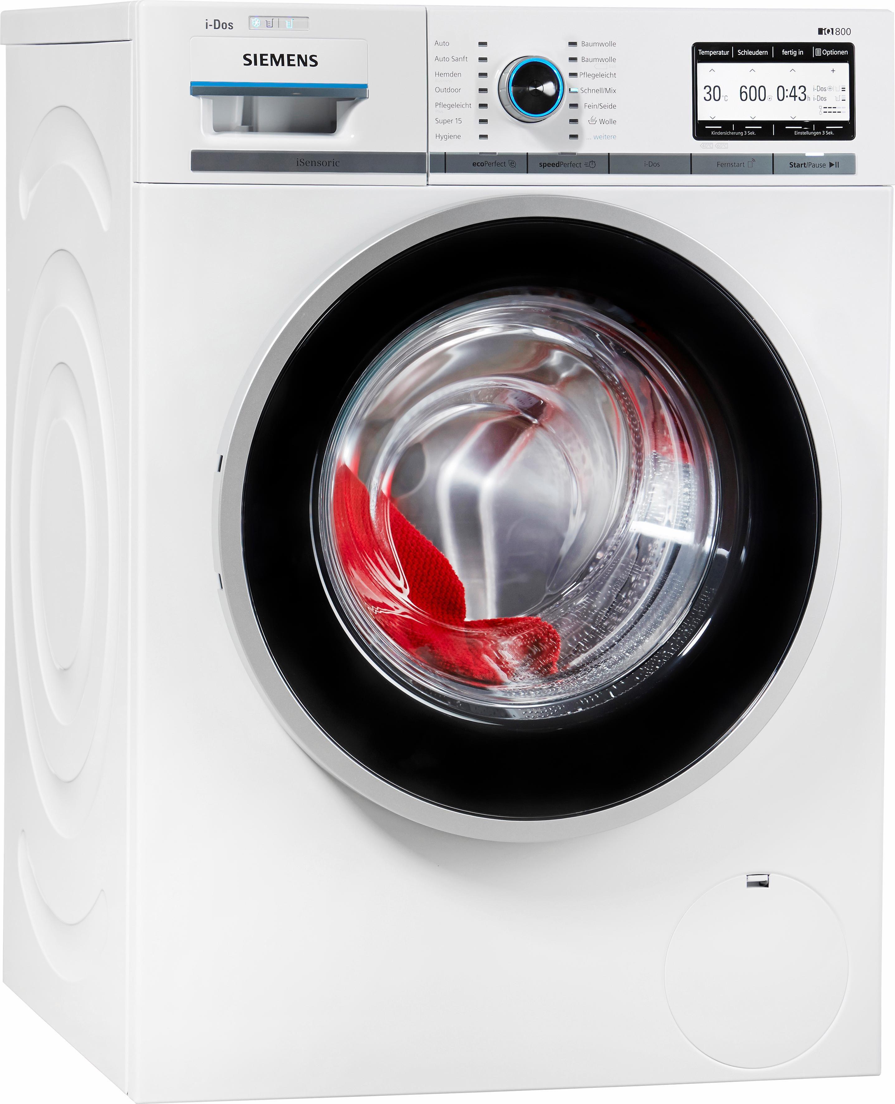 SIEMENS Waschmaschine WM6YH840, A+++, 8 kg, 1600 U/Min