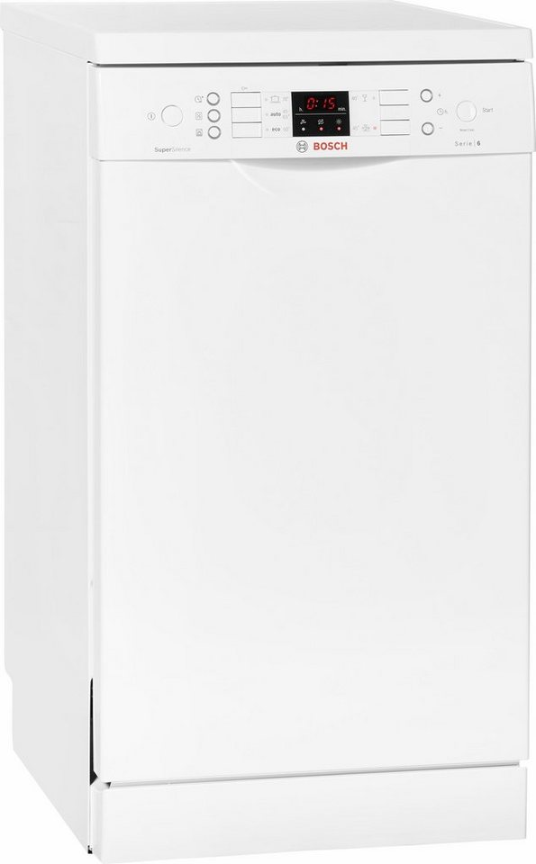BOSCH Geschirrspüler SPS58N02EU, A+, 9,5 Liter, 10 Maßgedecke in weiß