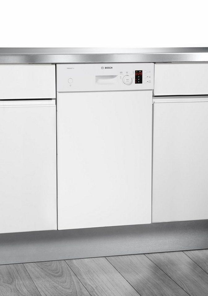 BOSCH Unterbaugeschirrspüler SPD50E92EU, A+, 9,5 Liter, 9 Maßgedecke in weiß