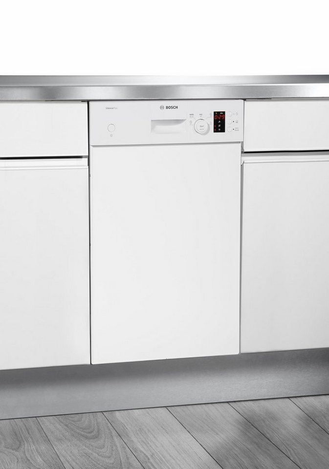 BOSCH Unterbaugeschirrspüler SPD50E9W, A+, 9,5 Liter, 9 Maßgedecke in weiß
