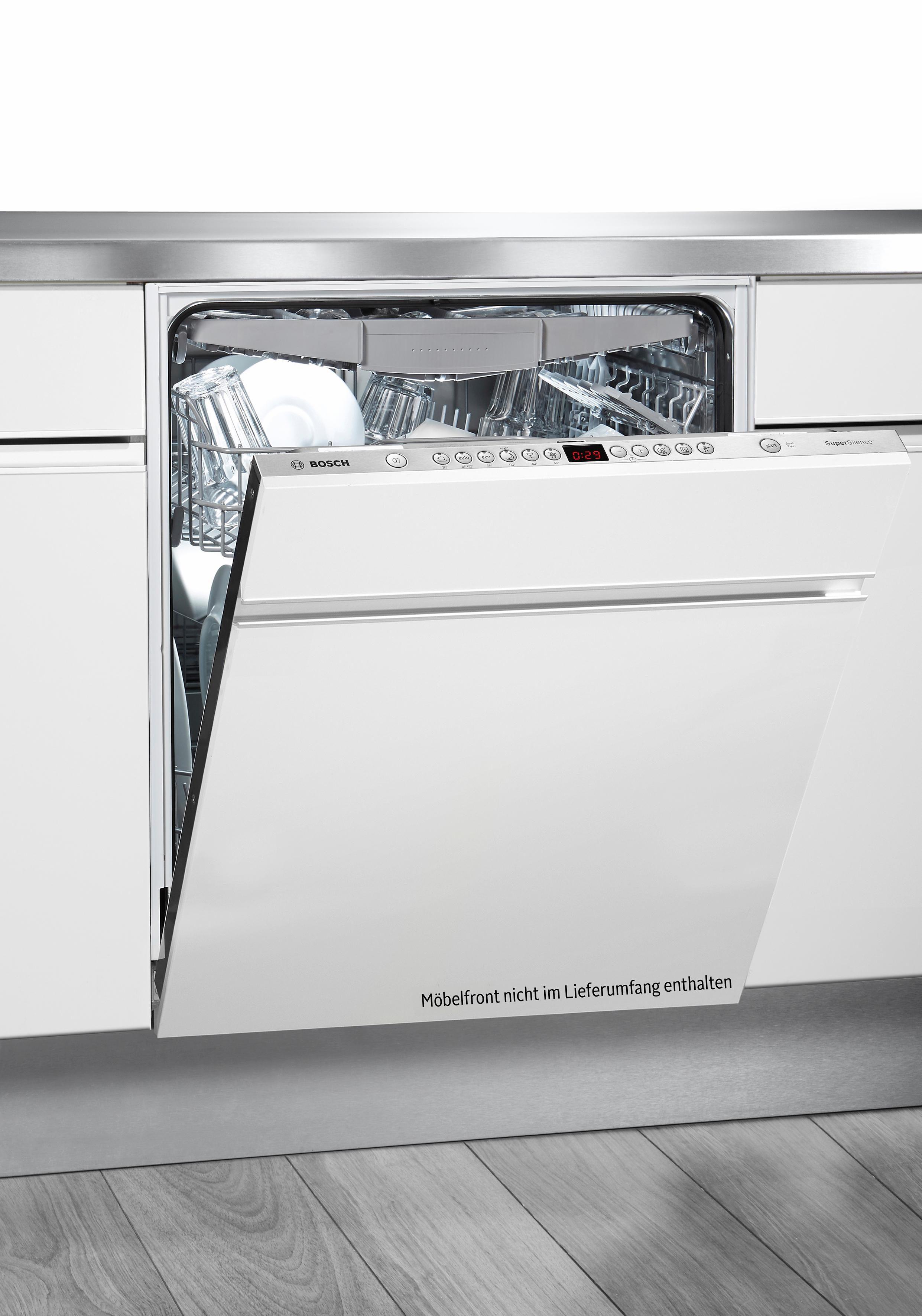 Bosch integrierbarer Einbaugeschirrspüler SMV68N30EU, Energieklasse A+