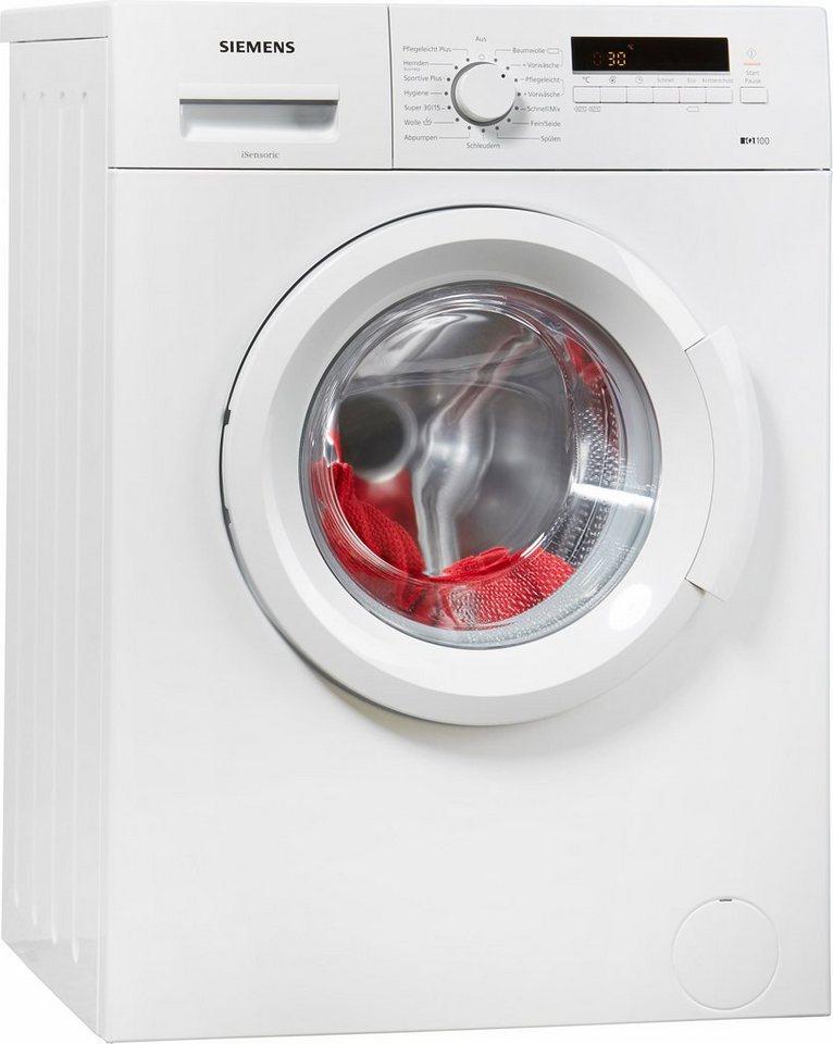 SIEMENS Waschmaschine WM14B222, A+++, 6 kg, 1400 U/Min in weiß