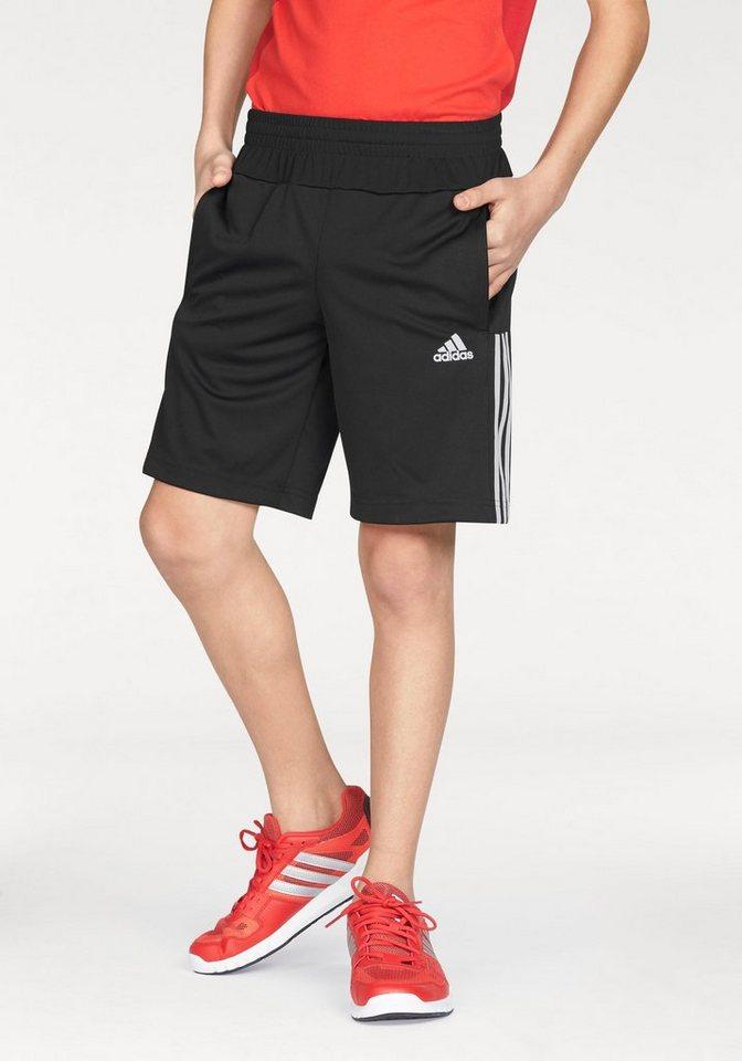 adidas Performance Shorts »GEAR UP SHORT« in schwarz-weiß