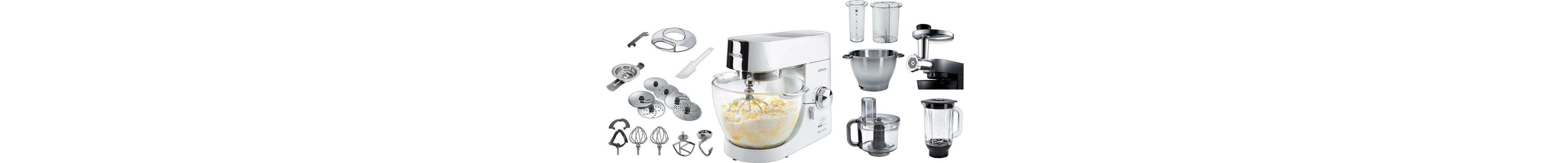 Kenwood Küchenmaschine »Chef Titanium KMC014« Lafer-Edition mit Sonderzubehör im Wert 174,97€
