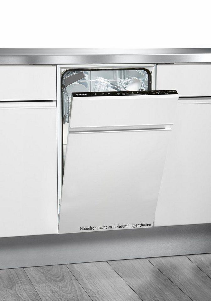 BOSCH Vollintegrierbarer Einbaugeschirrspüler SPV50E90EU, A+, 9,5 Liter, 9 Maßgedecke