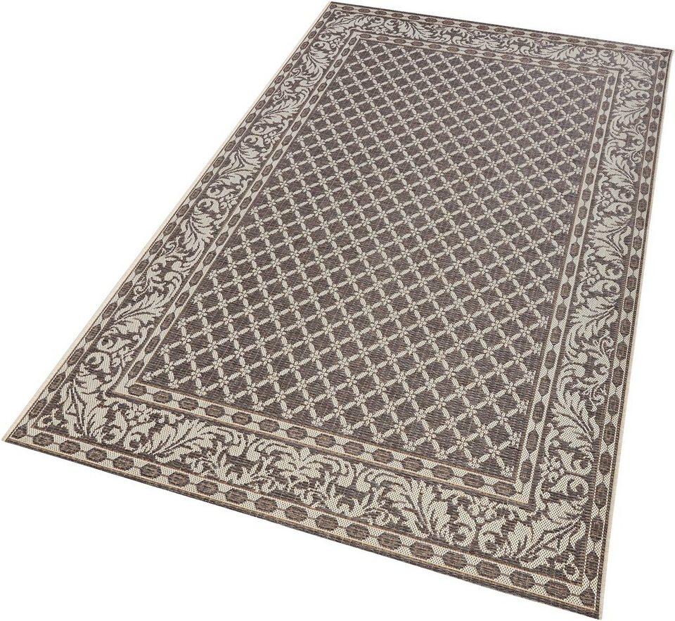Teppich, bougari, »Royal«, In- und Outdoorgeeignet, Sisaloptik in grau
