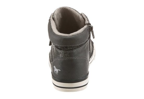 Mustang Shoes Sneaker, With Beautiful Glittering Details
