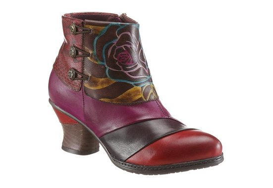 Laura Vita Ankle Boot, In A Great Colorway
