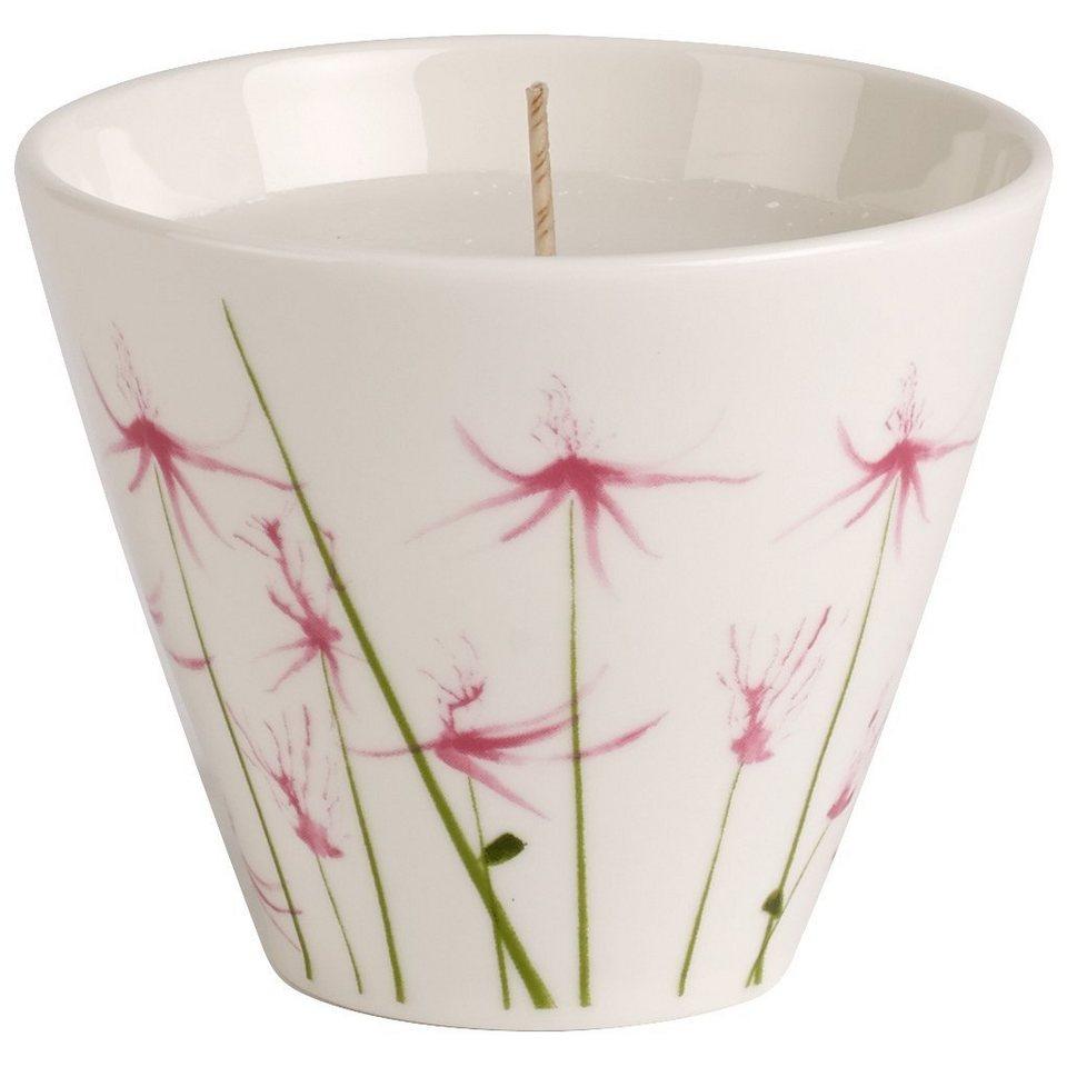 VILLEROY & BOCH Teelichthalter mit Kerze Pink Bloss »Little Gallery Candles« in Dekoriert