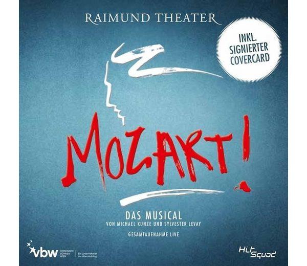 Audio CD »Michael Kunze; Sylvester Levay: Mozart!-Das...«
