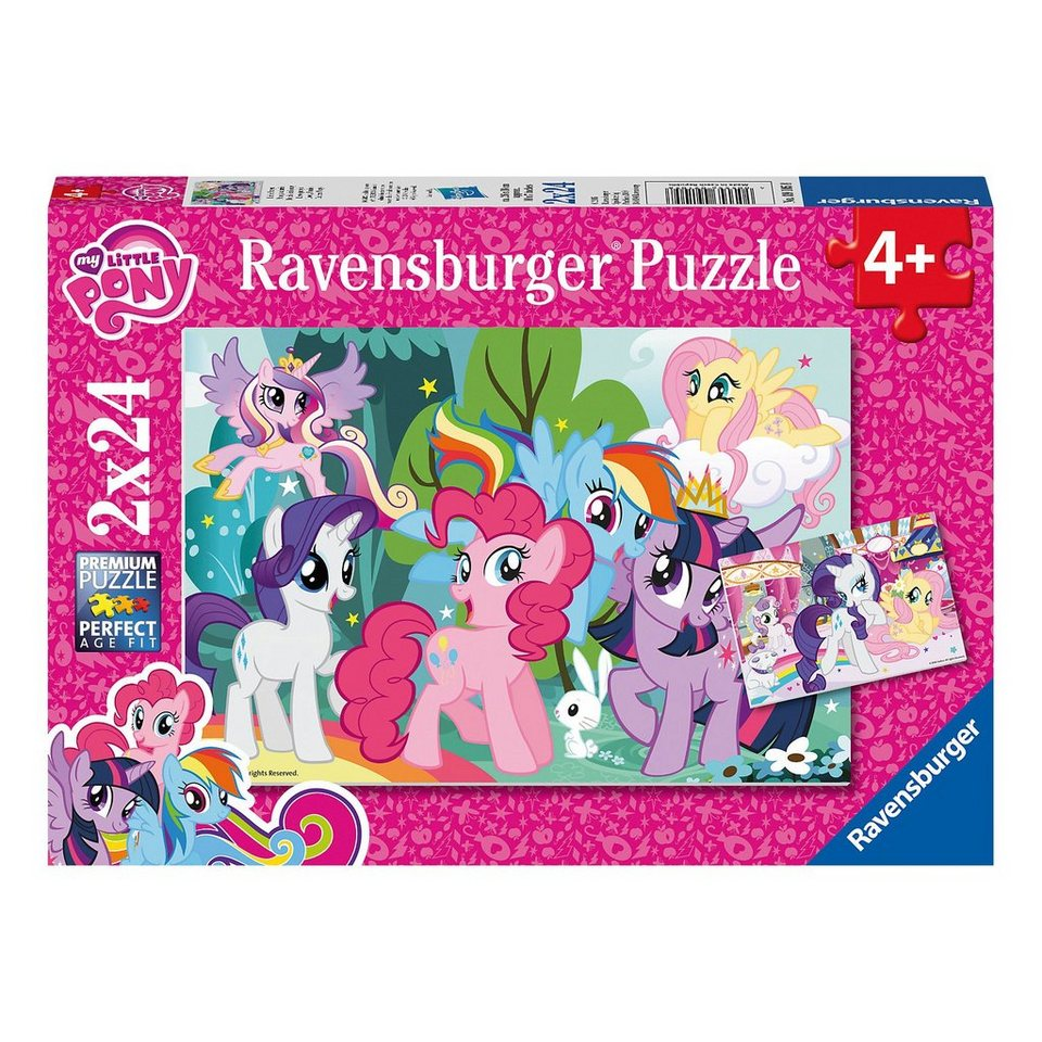 Ravensburger Puzzleset My Little Pony: Liebe Ponys 2 x 24 Teile