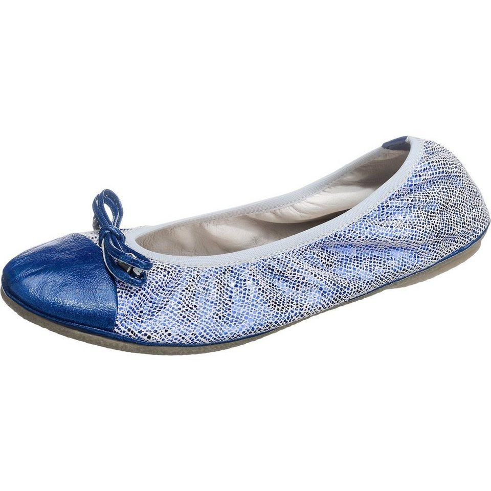 Tine's Ballerinas in blau-kombi