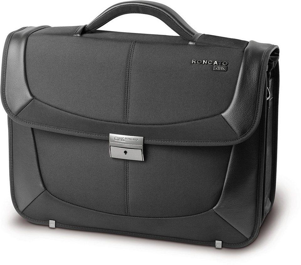 CIAK Roncato Aktentasche mit 2 Fächern und 15,6-Zoll Laptopfach, »B-Smart«
