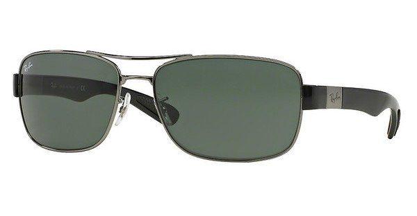 RAY BAN RAY-BAN Herren Sonnenbrille » RB3522«, grau, 004/71 - grau/grün