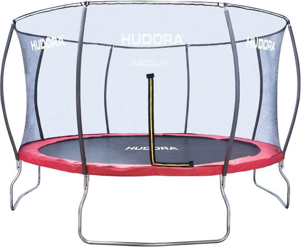 hudora trampolin 400cm inkl netz fantastic trampolin. Black Bedroom Furniture Sets. Home Design Ideas