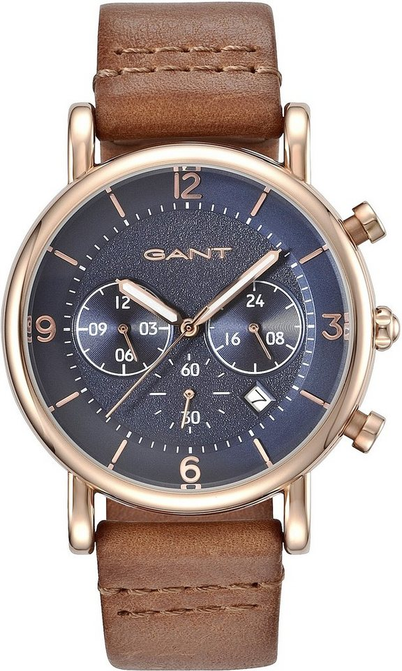 Gant Chronograph »SPRINGFIELD, GT007003« in cognac