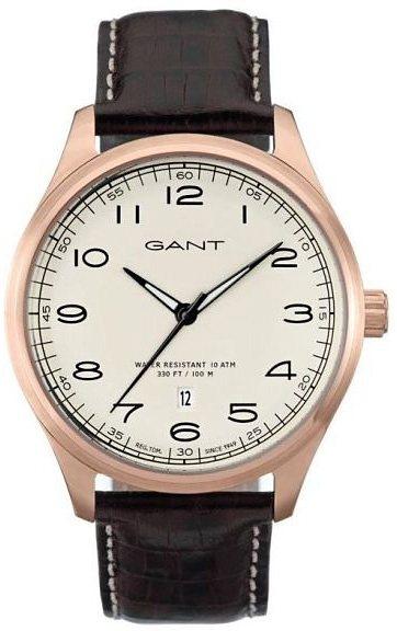 Gant Quarzuhr »MONTAUK, W71303« in rotbraun