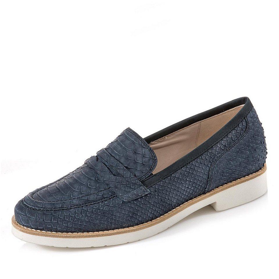 Gabor Comfort Slipper in blau