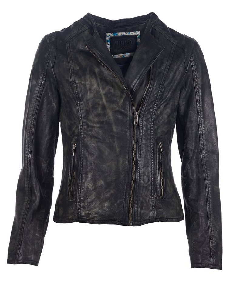 Mustang Lederjacke, Damen »Daphne« in black