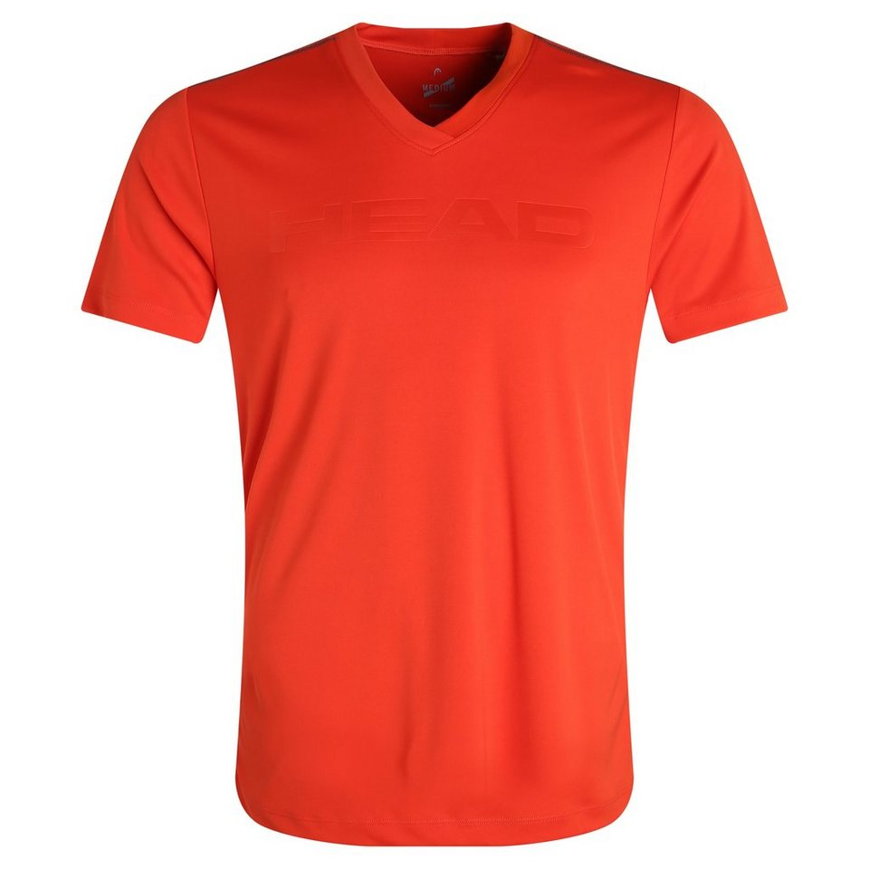 HEAD Transition M T4S Tennisshirt Herren in rot