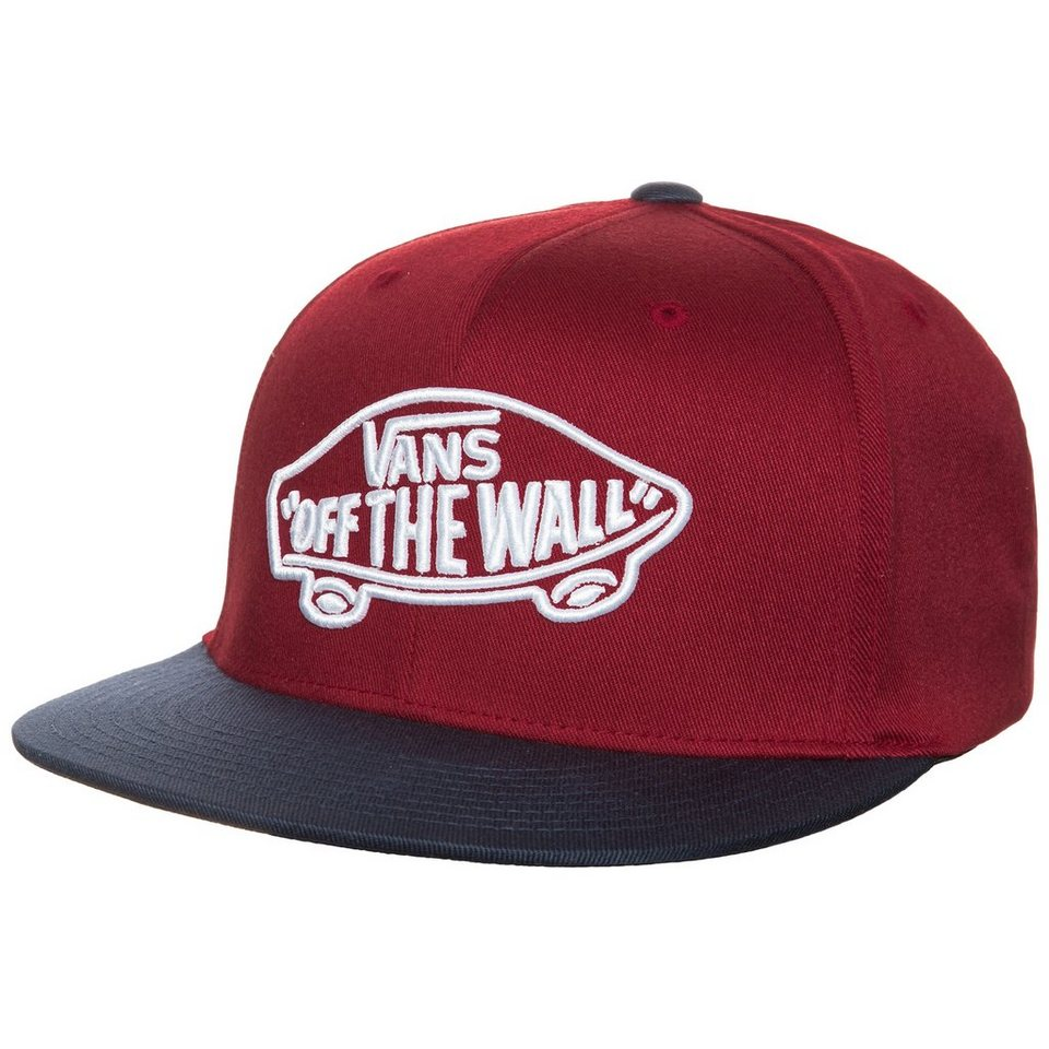 VANS Home Team FlexFit Cap in rot / dunkelblau