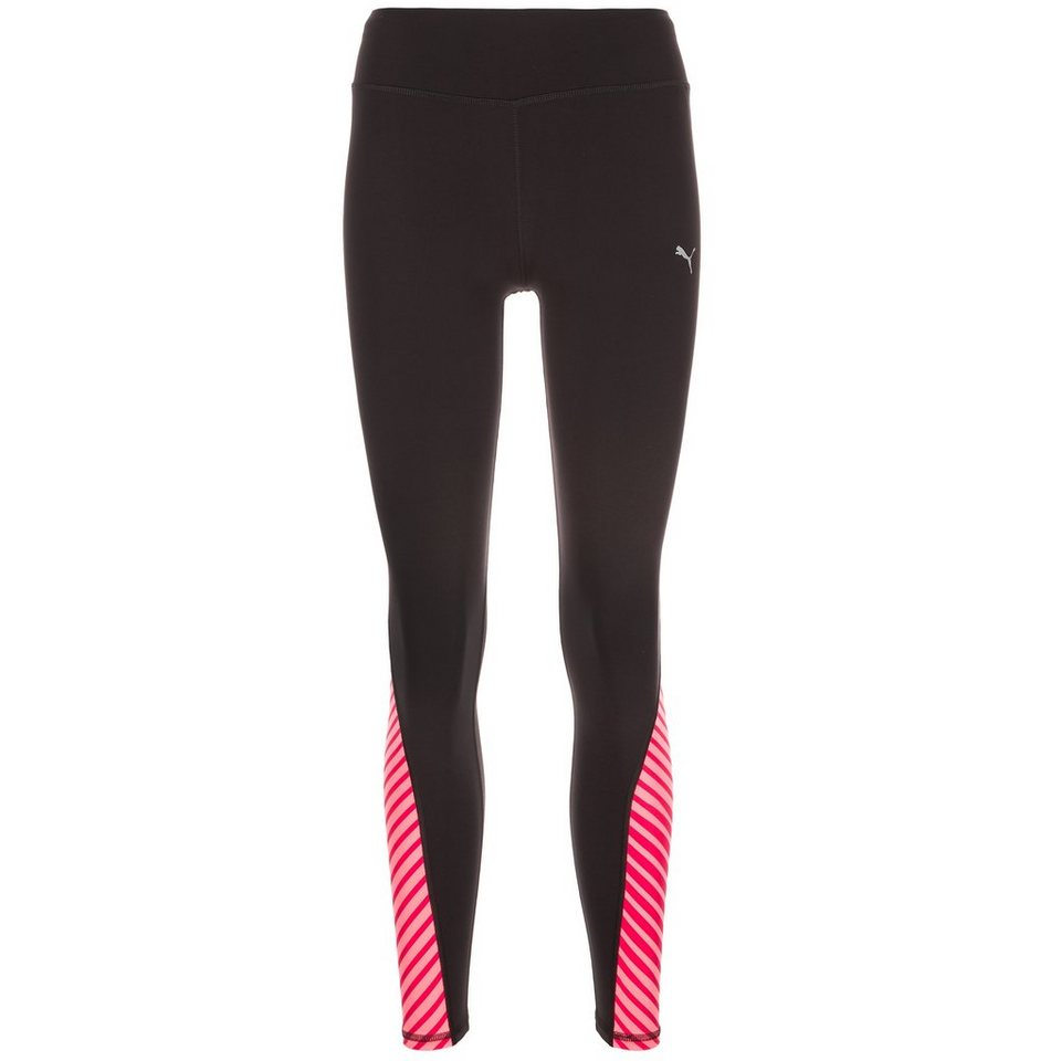 PUMA Graphic Lauftight Damen in schwarz / rosa