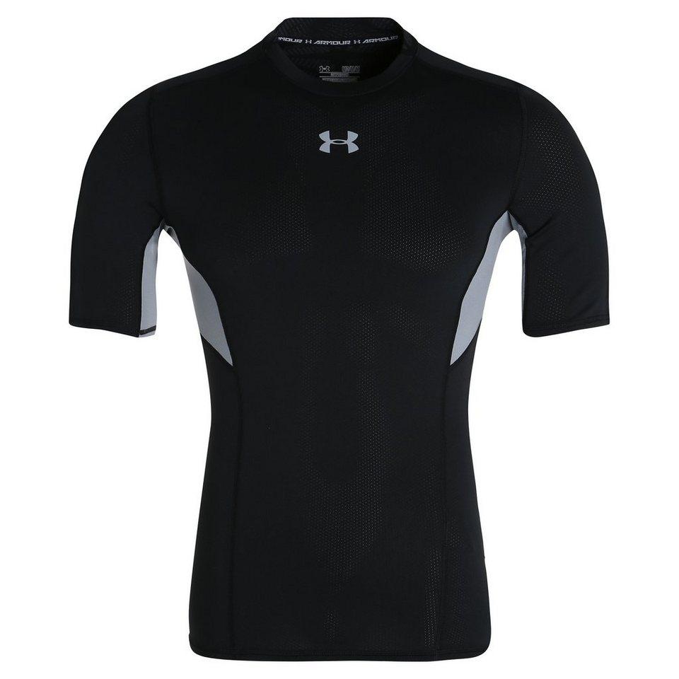 Under Armour HeatGear CoolSwitch Compression Trainingsshirt Herren in schwarz / grau