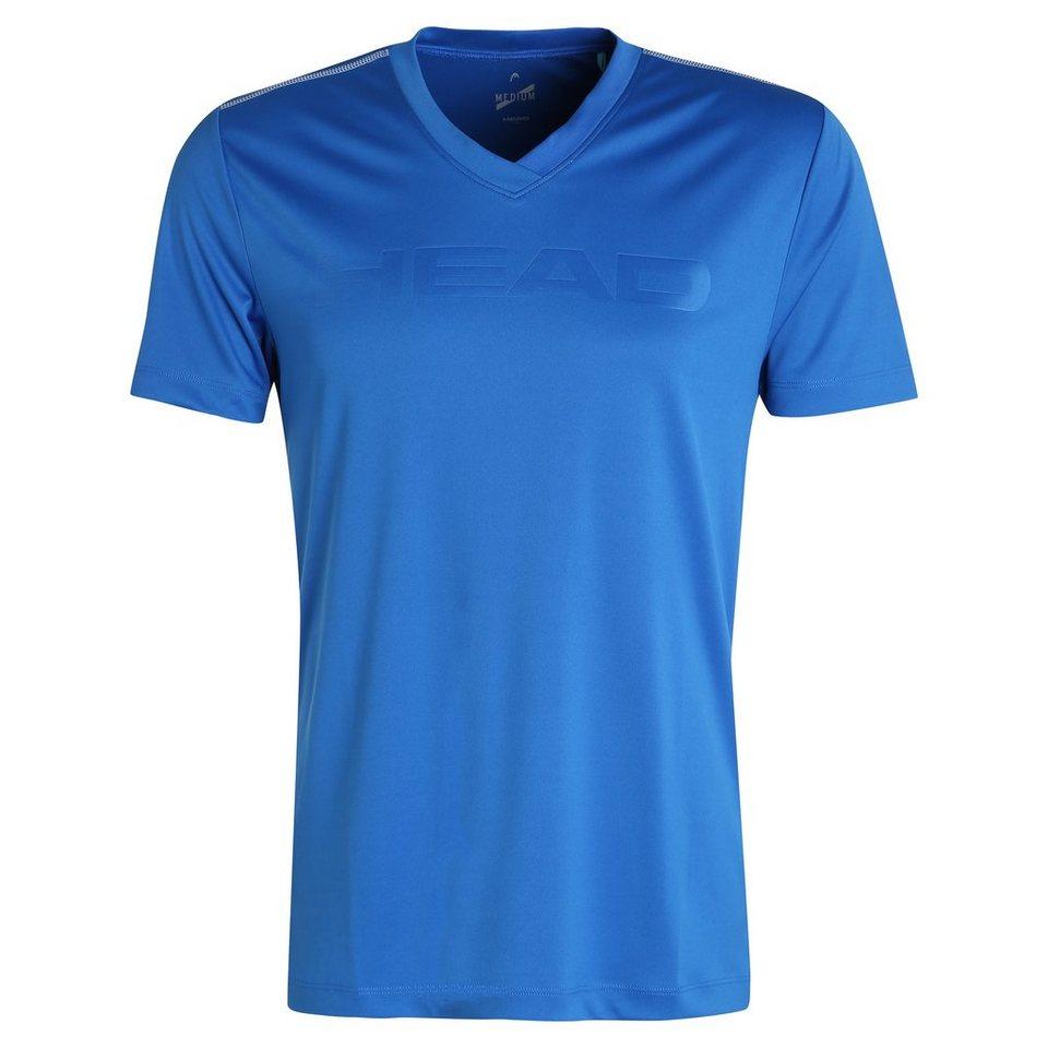 HEAD Transition M T4S Tennisshirt Herren in blau