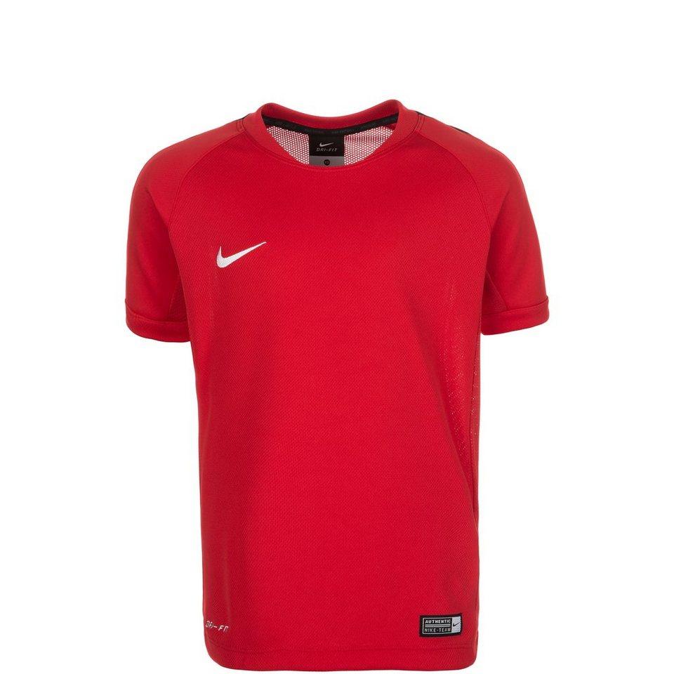 NIKE Squad 15 Flash Trainingsshirt Kinder in rot / schwarz