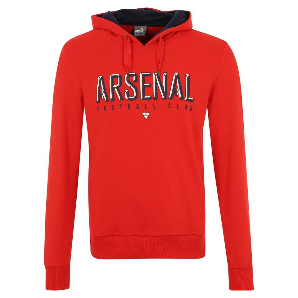 PUMA Arsenal London Fan Kapuzenpullover Herren in rot