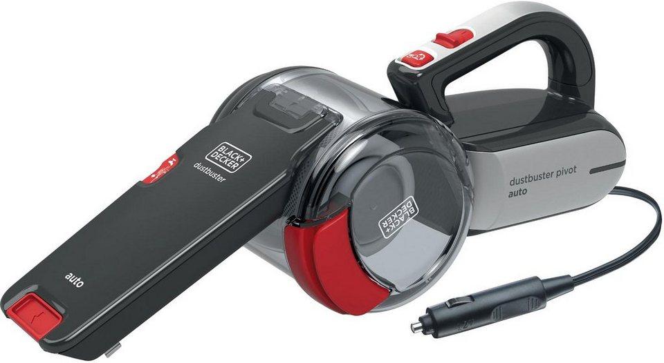 Black & Decker 12 Volt Auto-Handsauger PV1200AV in anthrazit / rot