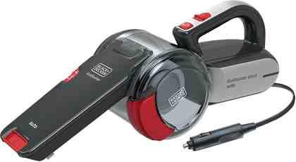 Black + Decker Handstaubsauger PV1200AV, 0 Watt, beutellos, Auto-Handsauger