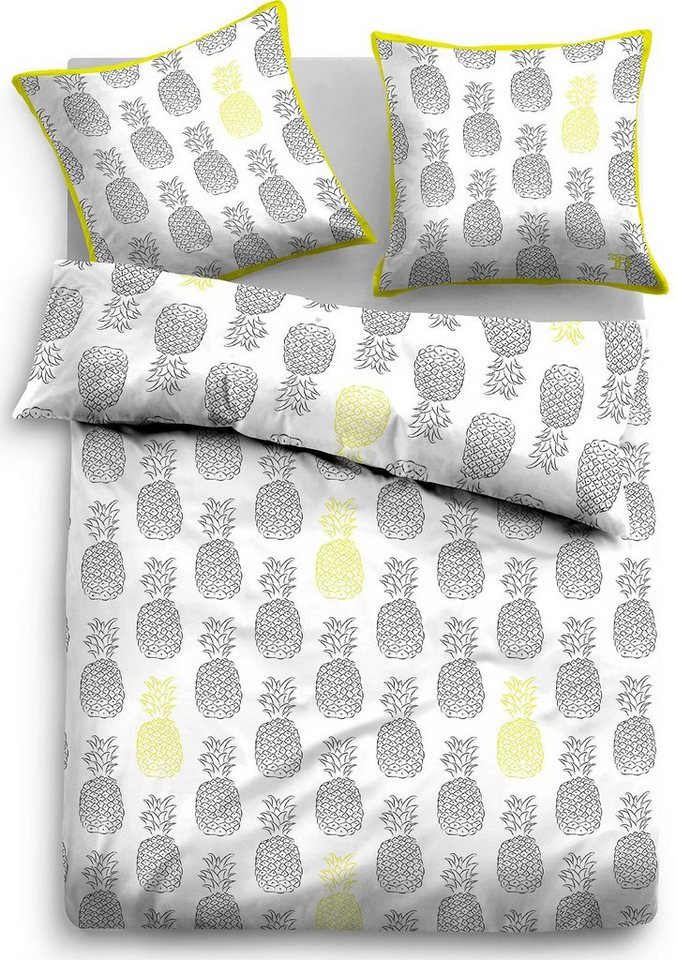 bettw sche tom tailor pineapple mit ananas motiven online kaufen otto. Black Bedroom Furniture Sets. Home Design Ideas