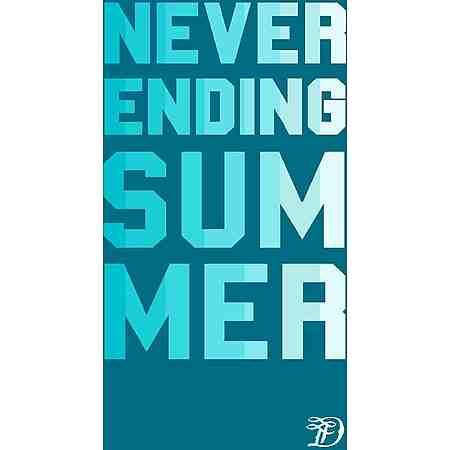 Strandtuch, Tom Tailor, »Summer«, mit großem Schriftzug