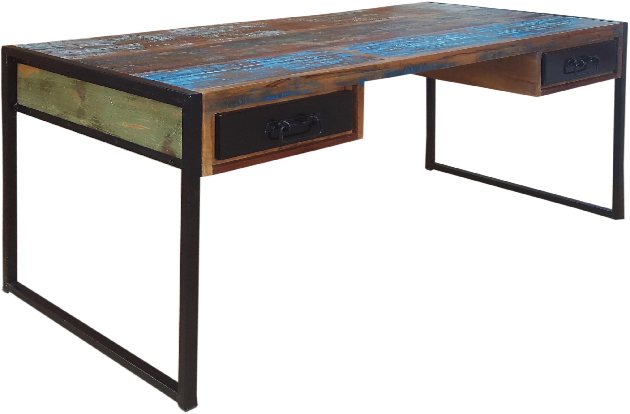 SIT Schreibtisch »Bali«, aus recyltem Altholz