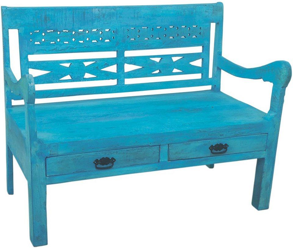 SIT Sitzbank »Blue«, 120 cm breit in blau